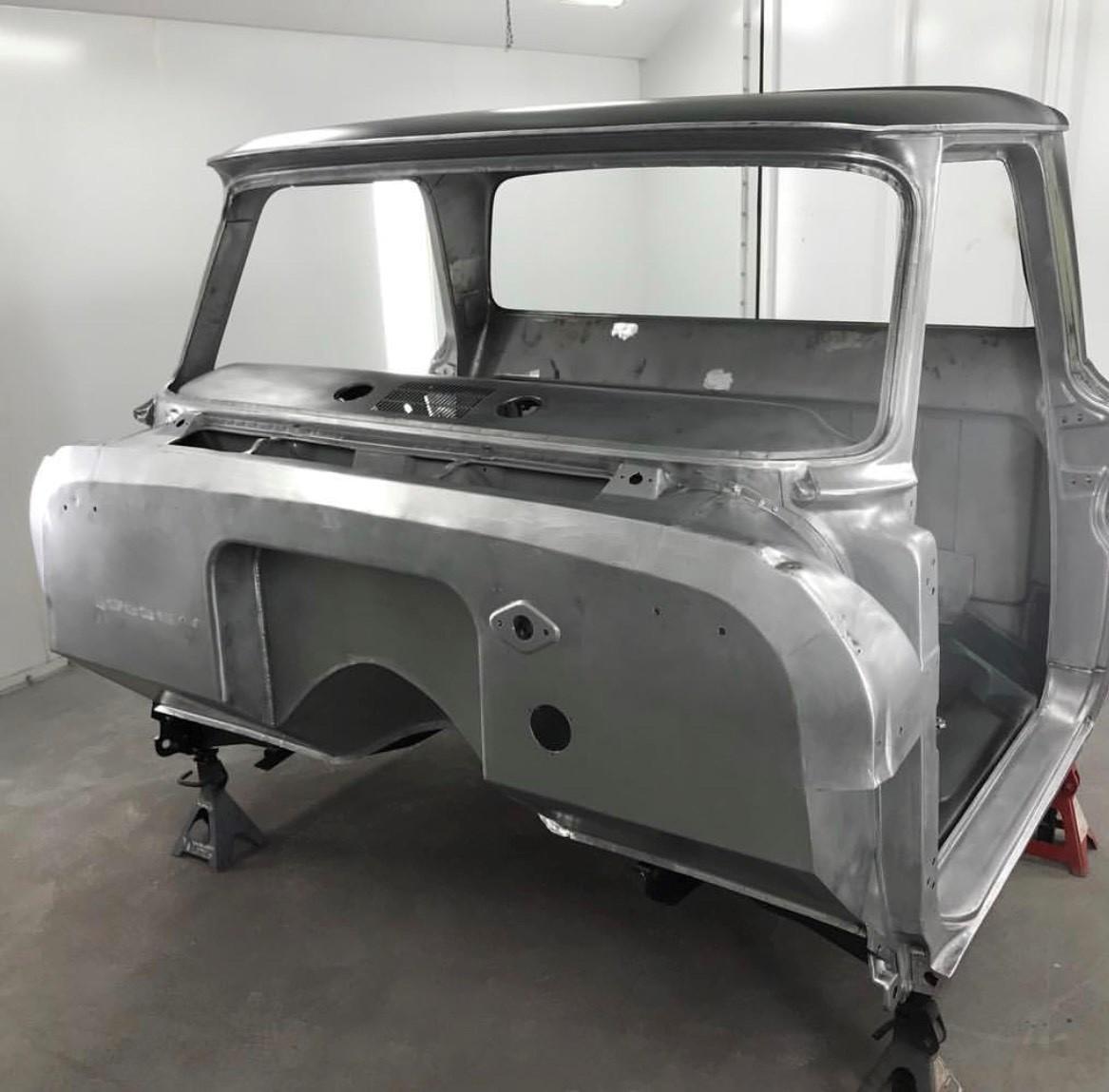 1964-66 C10 cab rust free