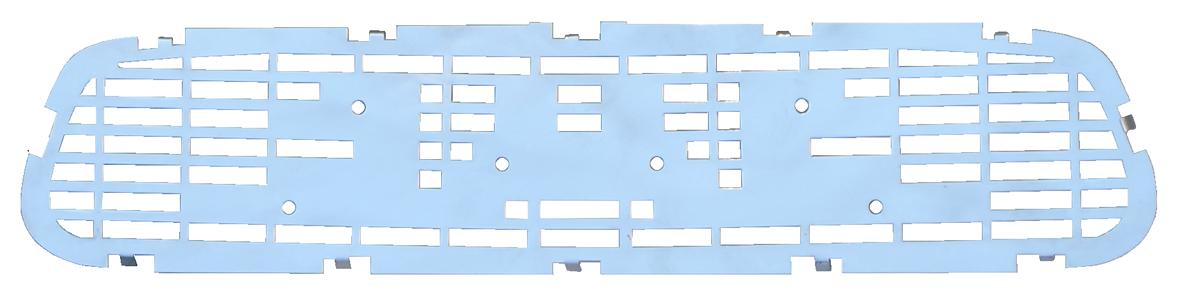 1955-56 GMC hood emblem bed