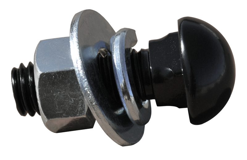 1947-87 GM Truck Bumper bolt black