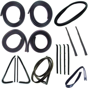 1973-77 GM truck complete weatherstrip kit