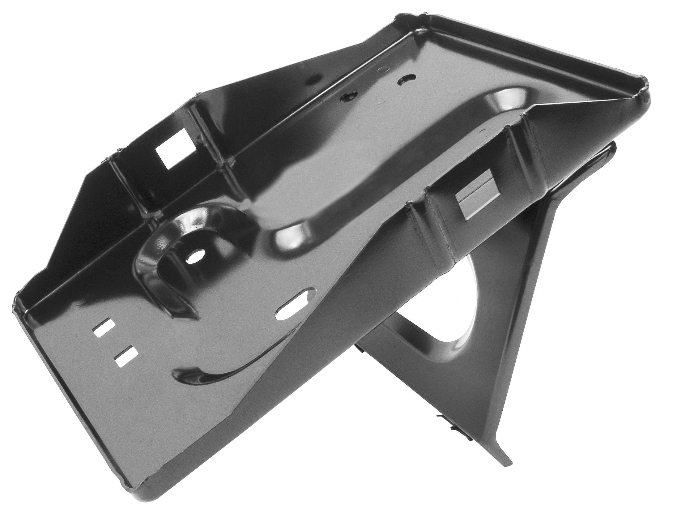 1965-66 Mustang battery tray top clamp style