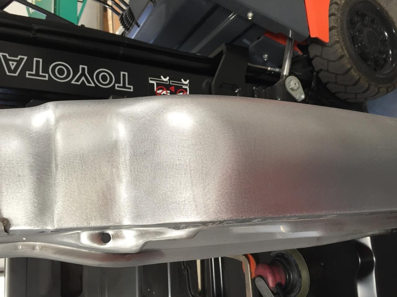 1967-72 GM truck gas tank filler blank