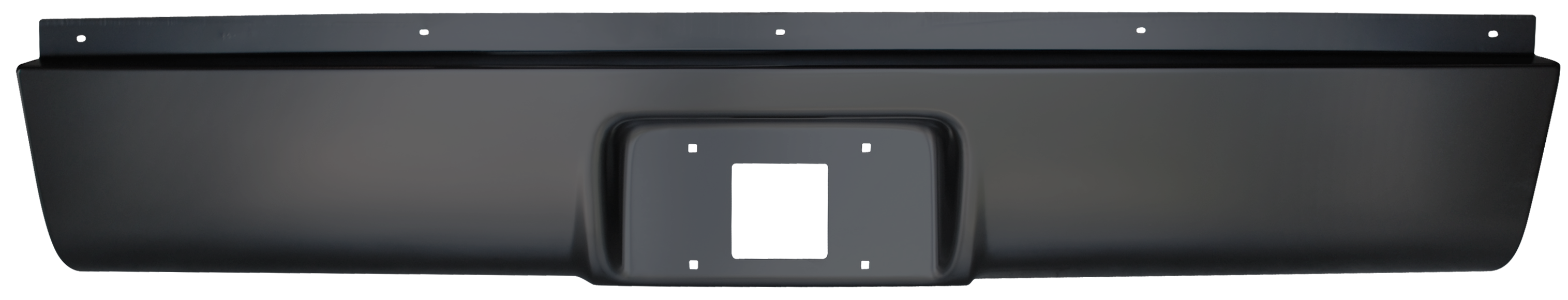 1999-2006 Silverado/Sierra rear roll pan w/license bucket