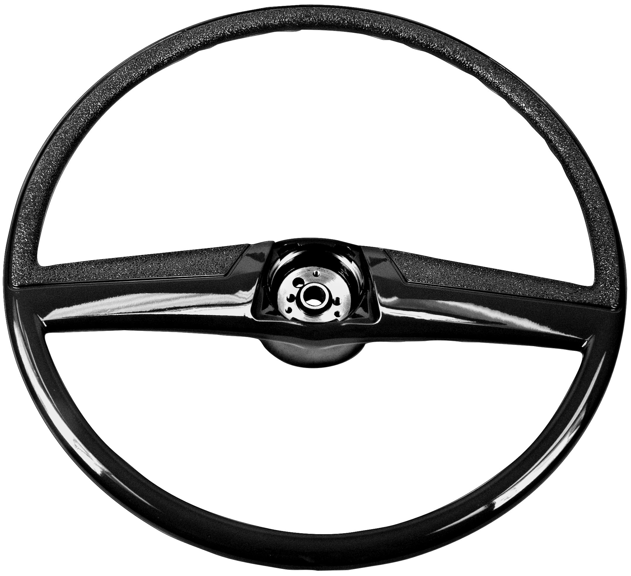 1969-72 GM truck steering wheel black