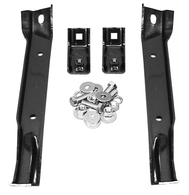 Front bumper bracket is a 4 pc set and fits 67-70 C-10 and GMC 4WD trucks