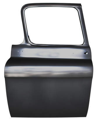 This 2nd Series door shell, driver's side fits 55-59 Chevrolet and GMC trucks