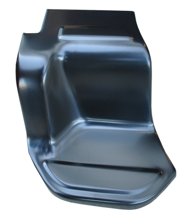 This stepside bed step, driver's side, fits 1973-1987 Chevrolet and GMC Stepside Pickups