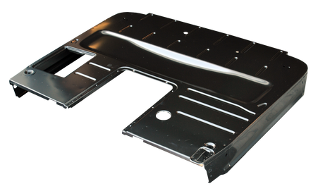 This cab floor w/o seat riser fits 1947-1955 Chevrolet and GMC Pickup Trucks