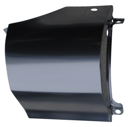 This passenger's side outer cowl panel, with antenna hole, fits 1960-1966 Chevrolet and GMC Pickup Trucks