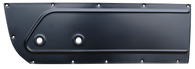 This driver's side inner door panel fits 55-59 Chevrolet and GMC trucks