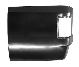 This rear corner, driver's side fits 1973-1987 Chevrolet Pickups