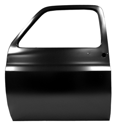 This front door shell, driver's side fits 1973-1976 Chevrolet and GMC Pickup trucks and Blazers