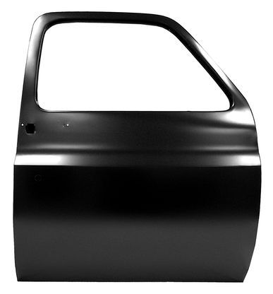 This front door shell, passenger's side fits 1973-1976 Chevrolet and GMC Pickup trucks and Blazers