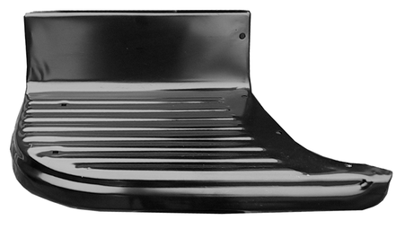 2nd Series shortbed bedside step plate, driver's side fits 55-59 Chevrolet and GMC trucks