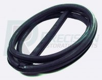 This windshield seal comes with lock strip and fits 1951-53 Chevrolet and GMC trucks with no chrome trim.