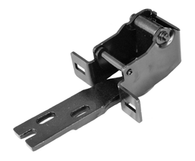 This upper door hinge lt=rt  fits 55-59 Chevrolet and GMC trucks