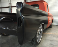 Nsane HotRodz is offering a limited run on the 1960-1966 Chevy Truck Steel Floor Fleet Side Short Bed Kits! These kits are pickup only! We offer assembly of these kits for an additional $500. These bed kits include : 2 BEDSIDES FRONT BED PANEL CHEVROLET STAMPED TAILGATE 2 WHEEL TUBS 2 TAILGATE TRUNIONS 2 PIVOT BOLTS STEEL BED FLOOR  STAINLESS BOLT KIT