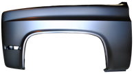 This front fender, drivers side fits 1981-1987 Chevrolet and GMC Pickup Trucks and 1981-87 Chevrolet Blazer and GMC Jimmy