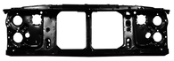 This radiator support with dual headlights fits 1981-1987 Chevrolet and GMC Pickup Trucks and 1981-1991 Chevrolet Blazers and Suburbans