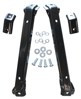 Front bumper brackets fits 67-70 C-10 and 67-72 GMC trucks 2 wheel drive