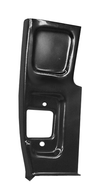 This 2nd Series lower front door pillar, driver's side fits Chevrolet and GMC trucks