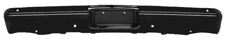 This front painted bumper without holes fits 1983-1987 Chevrolet and GMC Pickup Trucks
