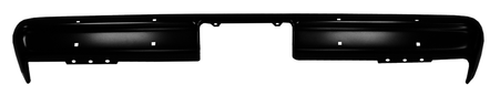 This rear painted bumper without holes fits 1981-1987 Chevrolet and GMC Pickup Trucks and 1981-1991 Chevrolet Blazers and Suburbans