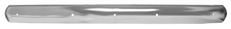 This rear chrome bumper fits 1947-1953 Chevrolet and GMC Pickup Trucks