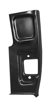 This 2nd Series lower front door pillar, passenger's side fits 55-59 Chevrolet and GMC trucks