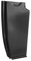 This lower rear door pillar, passenger's side fits 55-59 Chevrolet and GMC trucks