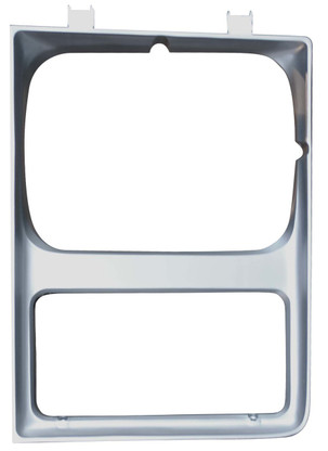 This driver's side headlight bezel fits 1985-87 Chevy and GMC trucks, Suburbans and Blazers.