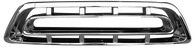 This chrome grille fits 1957 Chevrolet Pickup Truck
