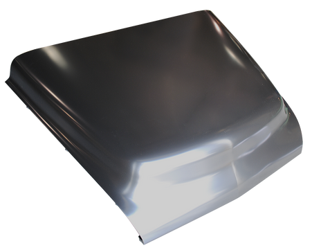 This 2nd Series hood fits 1955-1956 Chevrolet Pickup Truck