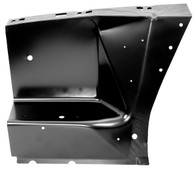 This passenger's side front fender apron fits 1967-68 Ford Mustangs