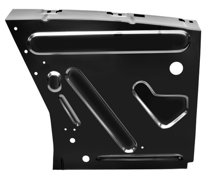 This driver's side front fender apron fits 1967-68 Ford Mustangs