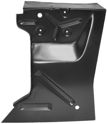 This driver's side rear fender apron fits 1967-68 Ford Mustangs