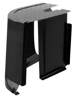 This 2nd series inner cab corner, passenger's side fits 1955-1959 Chevrolet Pickup Truck and 1955-1959 GMC Pickup Truck