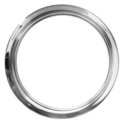 This chrome instrument bezel fits 1947-53 Chevrolet and GMC trucks