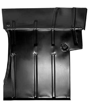 This 2nd Series cab floor pan, passenger's side fits 1955-1969 Chevrolet Pickup Truck and 1955-1969 GMC Pickup Truck