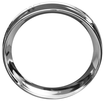 This stainless instrument bezel fits 1954-55 Chevrolet and GMC trucks