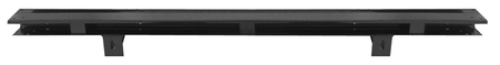 This 2nd Series bed floor rear cross sill, 1/2 - 3/4, for a bed with 7 strips, fits 1955-1959 Chevrolet Pickup Truck and 1955-1959 GMC Pickup Truck