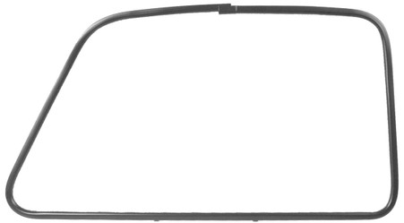 This passenger's side outer door window trim is paintable and fits 1947-50 Chevrolet and GMC trucks.