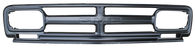 This paintable grille, with GMC lettering, fits 1967 GMC Pickup Truck and Suburban