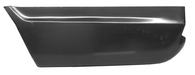 This lower rear quarter panel section, driver's side fits 1967-1972 Chevrolet Suburban