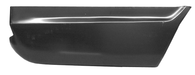 This lower rear quarter panel section, passenger's side fits 1967-1972 Chevrolet Suburban