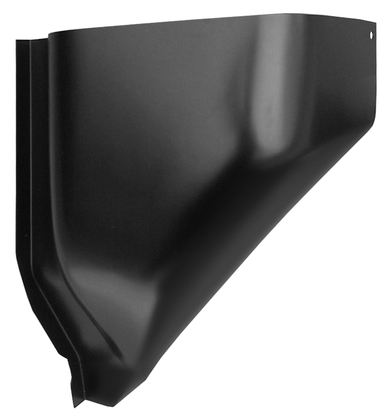 This 2nd Series lower section air vent cowl, passenger's side fits 1955-1959 Chevrolet Pickup Truck and 1955-1959 GMC Pickup Truck
