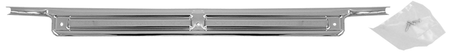 This 3rd door sill plate with screws fits 1967-1972 Chevrolet Suburban