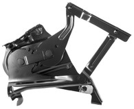 This first quality drivers side hood hinge fits all 1957 Chevrolet cars.