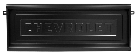 This GM licensed, Chevrolet logo stepside tailgate fits 1954-1987 1st Series Chevrolet Pickup Truck