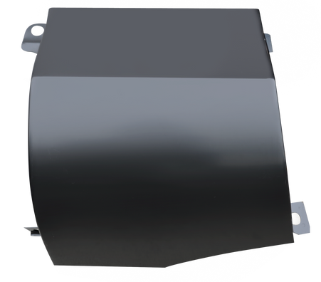 This passenger's side outer cowl panel fits 1960-1966 Chevrolet Pickup Truck and 1960-1966 GMC Pickup Truck